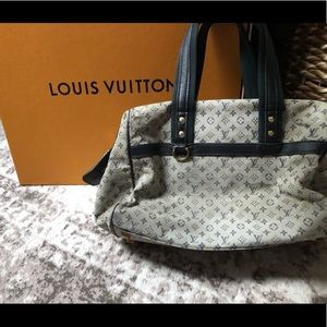 Louis Vuitton mini lin Josephine doctor satchel